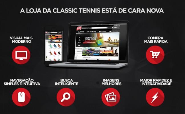 Nova loja Classic Tennis